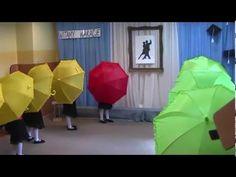 Taniec z parasolkami- Przedszkole nr 10 Lębork - YouTube