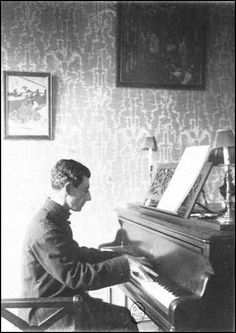 Maurice Ravel, 1912, photo by Roland Manuel