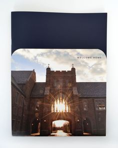 Notre Dame Law School Admissions Packet by Katherine Campbell, via Behance