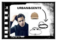"""Daily Silver look with U&G bracelets"" by urbanandgents ❤ liked on Polyvore featuring Gucci, men's fashion and menswear"