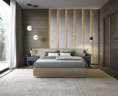 32 Fabulous Modern Minimalist Bedroom You Have To See - Everywhere you look you find things are being updated. The best way to start modernizing in your life is to have a modern bedroom. Luxury Bedroom Design, Master Bedroom Interior, Master Bedroom Design, Home Bedroom, Bedroom Wall, Bedroom Designs, Master Suite, Bed Room, Bedroom 2018