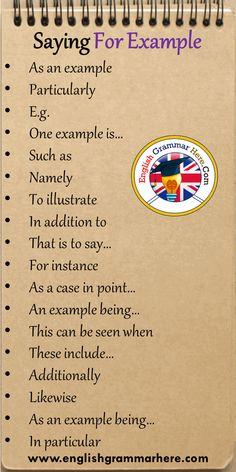 Essay Writing Skills, English Writing Skills, Book Writing Tips, Writing Words, Writing Topics, Essay Writer, English Lessons, English Vocabulary Words, English Phrases