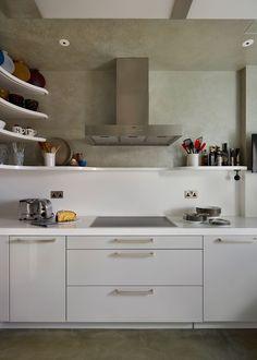 Open Cabinetry  - ELLEDecor.com
