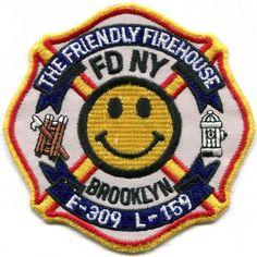 NY - New York City FDNY Engine 309/Ladder 159 vintage patch
