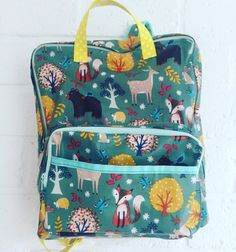 Whimsical Woodlands DIY Backpack | Get your kids ready for the new school year with this adorable DIY school backpack!