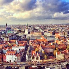The most beautiful pictures of Denmark (24 photos) My heart always skips a beat flying into Copenhagen and seeing this view!