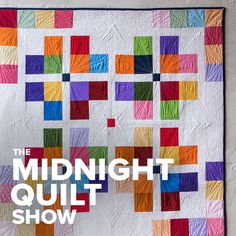 It's Quilt Time! Don't let the stitching stop! You're just one click from new episodes, behind the scenes stories and sew much more. Check out all things Midnight Quilt Show at Crafty! Quilting 101, Machine Quilting Designs, Longarm Quilting, Quilting Tutorials, Quilting Projects, Modern Quilt Patterns, Quilt Block Patterns, Quilt Modern, Quilt Blocks