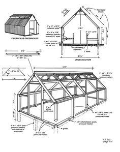 GreenHouse Plans CT 210 Fiberglass 1