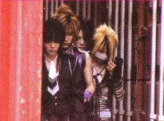 Kai, Uruha, Aoi, Reita - The GazettE