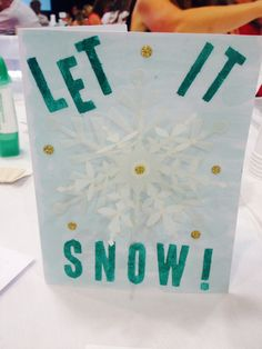 Stampin' Up! demonstrator Eva W's project showing a fun alternate use for the Watercolor Winter Simply Created Card Kit.