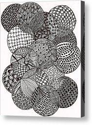 Circles by Bharti Gupta - Circles Drawing - Circles Fine Art Prints and Posters for Sale