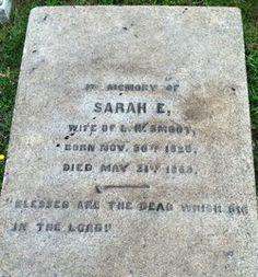 Sarah Edmondia Laub (Smoot), 20 Nov 1825 - 21 May 1869