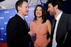 Neil Patrick Harris, Cobie Smulders and Josh Radnor. I Meet You, Told You So, Barney And Robin, Saga, How Met Your Mother, Robin Scherbatsky, Best Night Ever, Neil Patrick Harris, Cinema