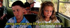 Pin for Later: 20 Forrest Gump Moments You'll Never Forget When Forrest First Meets Jenny