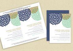 Wedding Invitation Template DOWNLOAD by DiyWeddingTemplates