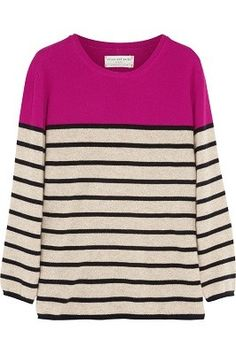 Net-A-Porter CHINTI AND PARKER Striped Cashmere Sweater (on sale for $232.50)