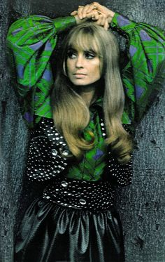 Suzy Kendall by Helmut Newton Vogue 1969