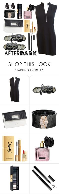 """""""After Dark: Party Outfits"""" by lorisgolfshoppe on Polyvore featuring Roberto Demeglio, Yves Saint Laurent, Victoria's Secret, afterdark and lorisgolfshoppe"""