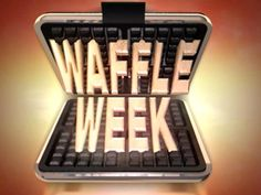 """Rachel Ray did """"Waffle Week"""" on her show! All different recipes to use your waffle maker for more than just waffles!!!"""