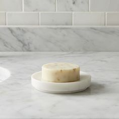 Graydon Marble Soap Dish - Crate and Barrel