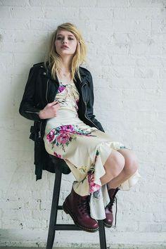 Betsey Johnson Vintage for Urban Outfitters Capsule Collection - Alice Flutter Midi Dress from #InStyle