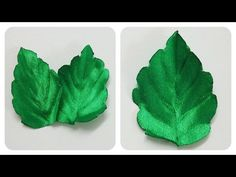 Download video: How to make ribbon leaves,diy ribbon flowers leaves,green leaves tutorial