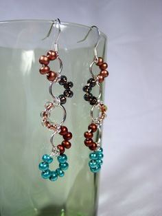 chainmaille earrings - Google Search