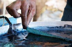 Dipping in Indigo by Lauren Barkume