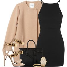 A fashion look from March 2015 featuring Topshop dresses, Monki and Giuseppe Zanotti sandals. Browse and shop related looks.