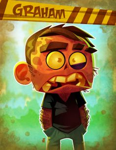 Didn't get to work on No Zombies Allowed that much, but the stuff I did get to do I embraced with much aplomb. 2d Character, Character Concept, Concept Art, Game Concept, Zombie Drawings, Zombie Cartoon, Affinity Designer, Art Blog, Game Art