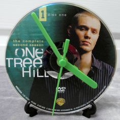 One Tree Hill DVD Clock Upcycled TV Show - Lucas by DarkStormTV on Etsy