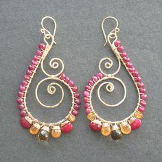 Luxe Bijoux 104 earrings from Calico Juno