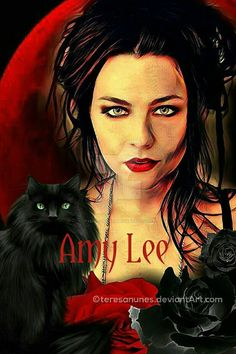 Amy Lee by teresanunes on DeviantArt Kansas City Chiefs Cheerleaders, Ben Moody, Memes Arte, Bring Me To Life, Amy Lee Evanescence, General Lee, David Gilmour, Love Pictures, Cool Art