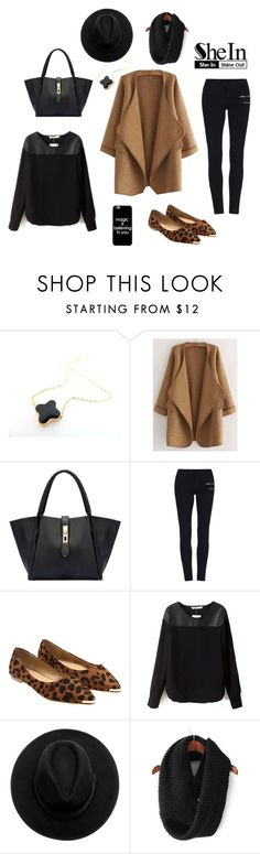 """Shein Contest Loose Cardigan"" by by-jwp ❤ liked on Polyvore"