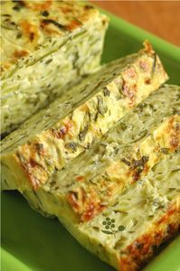 Terrine courgettes-menthe Zucchini, Party Finger Foods, Vegetarian Entrees, Healthy Appetizers, Food Presentation, Raw Vegan, Dessert, Vegan Recipes, Brunch