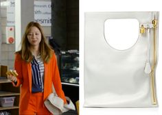 "Gong Hyo-Jin 공효진 in ""It's Okay, That's Love"" Episode 2.  Tom Ford Alix Small Leather Bag #Kdrama #ItsOkayThatsLove 괜찮아, 사랑이야 #GongHyoJin"