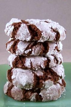 Fudge Crinkles (A Great 4 Ingredient Cake Mix Cookie) | These are chewy, fudgy, SUPER EASY cookies that you can probably make right now!