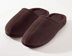 Closed Toe Terry Slippers with Memory Foam | Nature's Sleep  #NSPin2Win