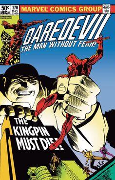 Daredevil #170 (1981) by Frank Miller