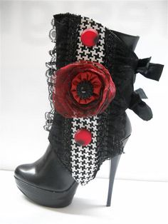 Houndstooth Rose