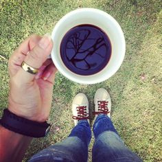 With coffee and you !!