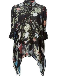 Women - Gucci 'Flora' By Kris Knight Oversized Shirt