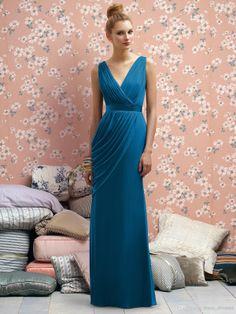 Wholesale Bridesmaid Dress - Buy 2014 Cheap Cobalt Blue Bridesmaid Dresses Lr174 Pluning V Neck Pleated Sleeveless Sliver Prom Dresses Zipper Floor Length Graduation Dresses, $85.84 | DHgate