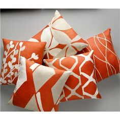 Contemporary Decorative Pillow from Judy Ross Textiles