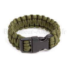 Bracelet Paracorde 550 Olive Olives, Zombies Survival, Zombie Apocalypse, Belt, Bracelets, Accessories, Backpacker, Envy, Objects