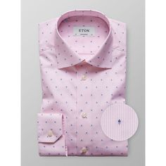 A contemporary take on the classic stripe shirt. This shirt is cut from a versatile and durable poplin fabric that is woven with fine stripes. We suggest that you wear this shirt with a pair of cotton trousers and an unlined jacket for a smart casual look Office Prints, Poplin Fabric, Casual Looks, Stripes, Pink, Cotton, Shirts, Contemporary, Dress Shirts