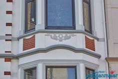 In so ein Haus kehrt man gern zurück. Von uns in Bremen sanierte Gründerzeit Fassade. Windows, Bremen, House, Ramen, Window