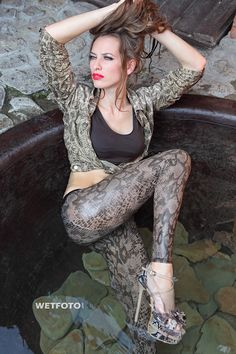 https://flic.kr/p/ehH4qB | #259 Wetlook with Sexy Girls in Wet Jacket and Leggings. Beautiful slim girl in jacket and leggings in shoes on high heels get wet fully clothed in bath. | Tags: Wetlook, WetFoto, wet girl, wet hair, get wet, swimming fully clothed, jacket, leggings, shoes on heels, bath  Preview for Photoset 259. All photos quantity in set - 139 (View All). Visit our site for more: www.wetfoto.com  SOCIAL: Follow us on Facebook Follow us on Flickr - Girls in Wetlook by WetFoto…