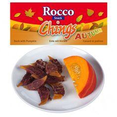Animalerie  Rocco Chings Saveurs dautomne pour chien  lot canard potiron (12 x 70 g)