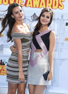 Victoria Justice and Madison Reed – 2015 MTV Movie Awards in Los Angeles  Posted on April 13, 2015